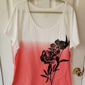 Lane Bryant Floral Top Size 22/24